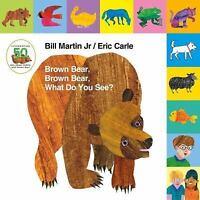Lift-The-Tab: Brown Bear, Brown Bear, What Do You See? 50th Anniversary Editi...