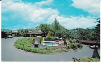 "Garberville CA  ""The Sherwood Forest Motel""   Postcard California"
