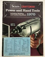 Sear Craftsman Power And Hand Tools 1970