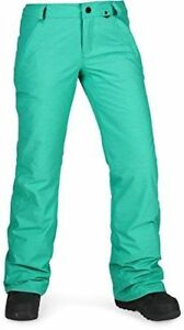 Volcom Snow Women's Frochickie Insulated Pants Teal Green XL