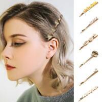 Women Imitation Pearl Starfish Shell Barrette Hairpin Alligator Hair Clip Hot