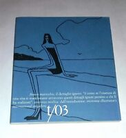 T/03  Il Dettaglio Ignoto di Franco Matticchio - Tricromia Illustrator's Int.
