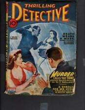 Thrilling Detective Vol 54 #2 STANDARD PUBLISHING 1945 Pulp GD+
