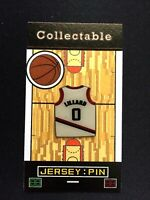 Portland Trailblazers Damian Lillard jersey lapel pin-Collectable-Free Shipping