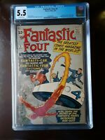 Fantastic Four 3 CGC 5.5 MANY first appearances Highly Desirable Silver Age Key