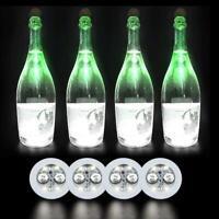 Colorful Luminous Bottle LED Light Cup Sticker Mat Party Bar Club Decor M5N4