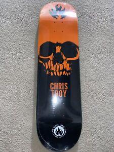 Black Label Skateboard Deck Chris Troy 8.5 x 32.25 Lucero