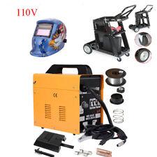 MIG 130 Electric Welder Welding Machine Kit Set 110V w/ Spool Wire Helmet Cart