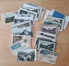 Schweiz - Sammlung mit 35 seltene alte Ansichtskarten / Postkarten
