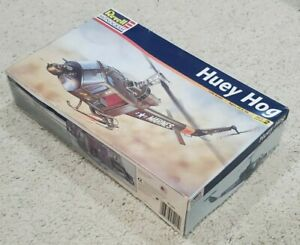 Revell Model Helicopter Huey Hog 85-5201 – 1:48 Scale, 10+, Open Box, Sealed Bag