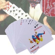 New Secret Marked Poker Cards See Through Playing Cards Magic Toy Tricks Ma U1A