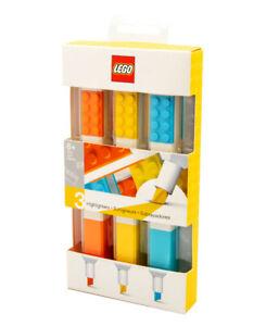 Lego 51685 Textmarker 3 verschiedene Farben