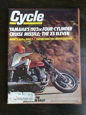Cycle Magazine January 1978 - Yamaha XS Eleven - Suzuki RM250C - BMW R80/7