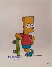 Nancy Cartwright Signed Bart Simpson Metallic 16x20 Photo *Voice Of Bart Beckett