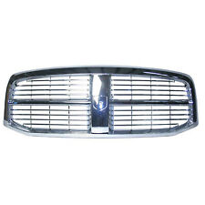 CH1200281 New Chrome Grille Fits 2006-2008 Dodge Ram 1500