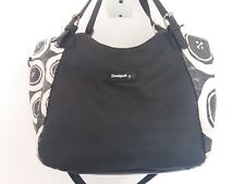 Pretty black & white shiny Desigual bag