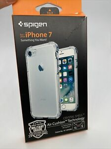 Spigen Crystal Shell Case for Apple iPhone 8 & iPhone 7 - Iphone SE 2020 Clear