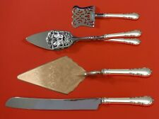Modern Victorian by Lunt Sterling Silver Dessert Serving Set 4pc Custom Made