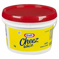 Cheez Whiz Original, 3kg/6.6lb., Pail, Foodservice Size, {Imported from Canada}