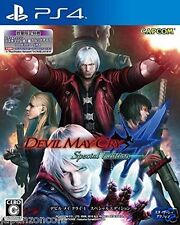 Used PS4 Devil May Cry 4  SONY PLAYSTATION 4  JAPANESE JAPONAIS IMPORT