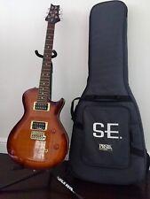 PRS SE Singlecut Electric Guitar, Tobacco Sunburst, Solid Body, Used (Mint)