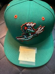 baltimore orioles hunter harvey game used hat from tides