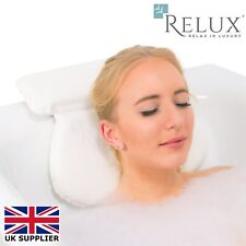 Relux Premium Waterproof Luxury Comfortable Waterproof Bath Spa Pillow Cushion