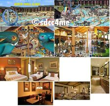Wyndham Glacier Canyon Resort 2BR/2BA DLX September 19-21 Wisconsin Dells Rental