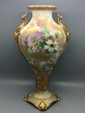 Rare Thomas Forester & Son ( T F & S Ltd ) English Pottery Vase.  c.1906