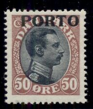 DENMARK #J7 (L8) 50ore Postage due, og, NH, VF, Scott $40.00