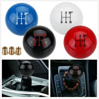 Universal 5 Speed Car MT Manual Round Ball Gear Shift Knob Shifter Lever