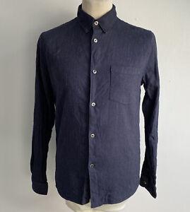 APC Shirt Linen Blend Size Large