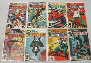 Web of Spider-Man comic lot from:#2-25 19 different 8.0 VF (1985-87)