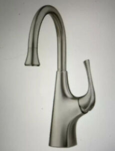 Pfister Ladera Single-Handle Bar Faucet in Spot Defense Stainless Steel