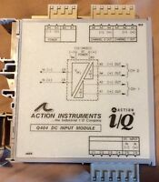 Action Instruments Q404-4L00   DC powered DC input Multi-channel Isolator