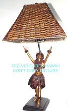 "Kim Taylor Reece ""Ku'ulei"" Hawaiian Hula Sculpture Lamp NIB"