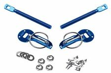 SPARCO STYLISH BLUE UNIVERSAL HOOD PIN KIT ALUMINUM CNC BILLET FIT ANY CAR 01606