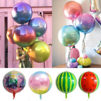22'' 4D Colorful Rainbow Foil Balloon Celebration Birthday Party Wedding Decor