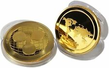24k Gold Plated Ripple XRP Crypto collectable Novelty Coin