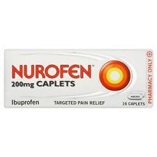 Nurofen Ibuprofen 200mg 16 Caplets 1 2 3 6 12 Packs