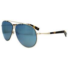 Tom Ford Sunglasses 0374 Eva 28X Shiny Rose Gold Blue Mirror