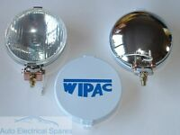 "WIPAC S6078 5 1/2"" CHROME Halogen Driving FOG Lamps (1 x PAIR )"