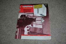1957 Lincoln Lubricating Equipment Catalog Car Service Stations