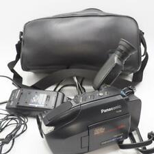 Panasonic Palmcorder VHS-C VCR Camcorder Video Camera Bundle