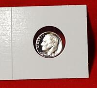 "1975-S ""ULTRA DEEP CAMEO"" PROOF ROOSEVELT DIME - SATISFACTION GUARANTEED!"