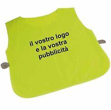 14 pettorina casacca poliestere calcio basket pallavolo personalizzata stampata