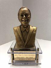 1979 40th ANNIVERSARY FRANK SINATRA GOLD STATUE CAESARS PALACE VEGAS MUSIC BOX