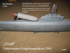Ursel représailles fusée 1945 1/144 Bird Models resinumbausatz/Resin Conversion