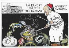 POP ERNEST SEA FOOD RESTAURANT~MONTEREY,CA