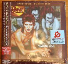Rare David Bowie Diamond Dogs 30th Double CDs EMI Japan Carded Digipack OBI